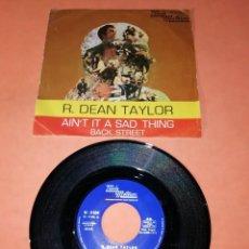 Discos de vinilo: R. DEAN TAYLOR. AIN'T IT A SAD THING . TAMLA MOTOWN RECORDS 1971. Lote 195414647