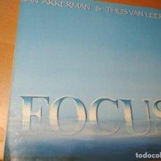 Discos de vinilo: JAN AKKERMAN & THIJS VAN LEER FOCUS LP SPAIN. Lote 195415270