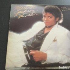 Discos de vinilo: MICHAEL JACKSON - THRILLER. Lote 195415378