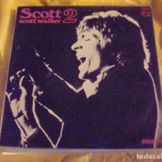 Discos de vinilo: SCOTT WALKER. SCOTT 2. PHILIPS, 1968. EDC. UK . IMPECABLE (#). Lote 195415788