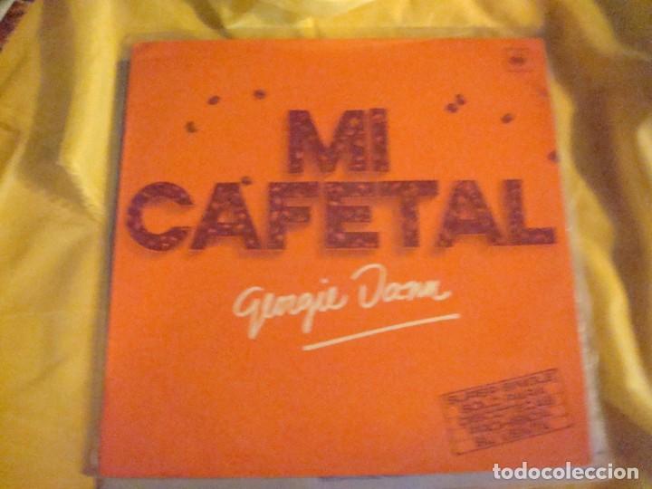 GEORGIE DANN. MI CAFETAL. CBS, 1977. MAXI-SINGLE . IMPECABLE (#) (Música - Discos de Vinilo - Maxi Singles - Solistas Españoles de los 70 a la actualidad)
