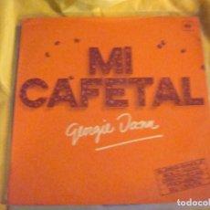 Discos de vinilo: GEORGIE DANN. MI CAFETAL. CBS, 1977. MAXI-SINGLE . IMPECABLE (#). Lote 195416063