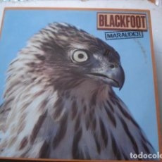 Discos de vinilo: BLACKFOOT MARAUDER. Lote 195416343