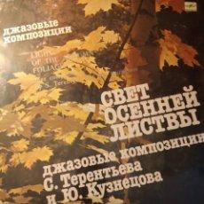 Discos de vinilo: TERENTYEV Y KUZNETSOV : LIGHT OF THE AUTUM FOLIAGE, EDITADO EN LA URSS EN 1983. Lote 195419212