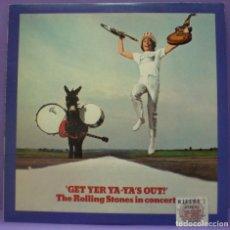 Discos de vinilo: ROLLING STONES - GET YER YA-YA'S OUT! - LP EDICIÓN US. Lote 195419275