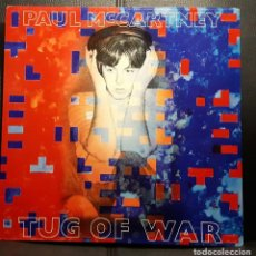Discos de vinilo: PAUL MCCARTNEY - BEATLES - TUG OF WAR - LP - ALEMANIA - CON ENCARTE PROMOCIONAL - EXCELENTE. Lote 195419548