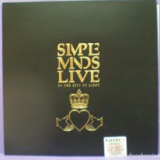 Discos de vinilo: SIMPLE MINDS - LIVE IN THE CITY OF LIGHT - 2XLP GATEFOLD EDICIÓN ESPAÑOLA. Lote 195421101