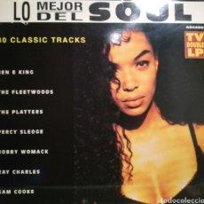 Discos de vinilo: VA - LO MEJOR DEL SOUL - 2XLP (1992). Lote 195421266