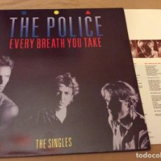 Discos de vinilo: THE POLICE - EVERY BREATH YOU TAKE (THE SINGLES). CONTIENE ENCARTE. AM ED ESPAÑA 1985.. Lote 195422000