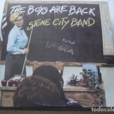 Discos de vinilo: STONE CITY BAND THE BOYS ARE BACK (JAPAN). Lote 195422015