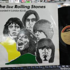 Discos de vinilo: THE LIVE ROLLING STONES RECORDED IN LONDON 63-65. Lote 195422615