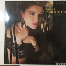 Discos de vinilo: MADONNA: BORDERLINE (NEW MIX) / LUCKY STAR (NEW MIX) (LEER DESCRIPCIÓN ANTES DE COMPRAR). Lote 195424112