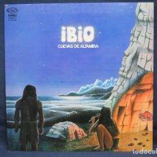 Discos de vinilo: IBIO - CUEVAS DE ALTAMIRA - LP. Lote 195424707