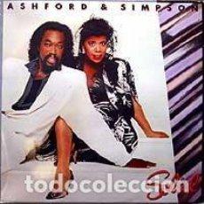 Discos de vinilo: ASHFORD & SIMPSON - SOLID (ESPAÑA, 1985). Lote 195425357
