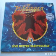 Discos de vinilo: NITZINGER LIVE BETTER ELECTRICALLY. Lote 195431258