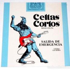 Discos de vinilo: V476 - CELTAS CORTOS. SALIDA DE EMERGENCIA. LP VINILO. Lote 195431326