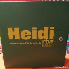 Discos de vinilo: HEIDI - ALBUM DE SINGLES ORIGINAL DE LA ÉPOCA COMPLETO - VER FOTOS . Lote 195432128