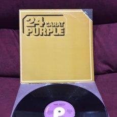 Discos de vinilo: DEEP PURPLE - 24 CARAT PURPLE LP, REEDICIÓN, RECOPILATORIO, 1985, ESPAÑA. Lote 195432347