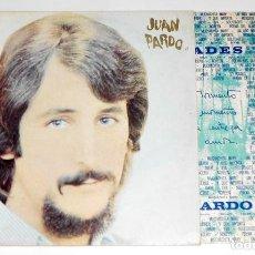 Discos de vinilo: V478 - JUAN PARDO. SOLEDADES. LP VINILO. Lote 195432608