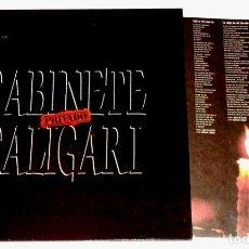 Discos de vinilo: V479 - GABINETE CALIGARI. PRIVADO. LP VINILO. Lote 195433068