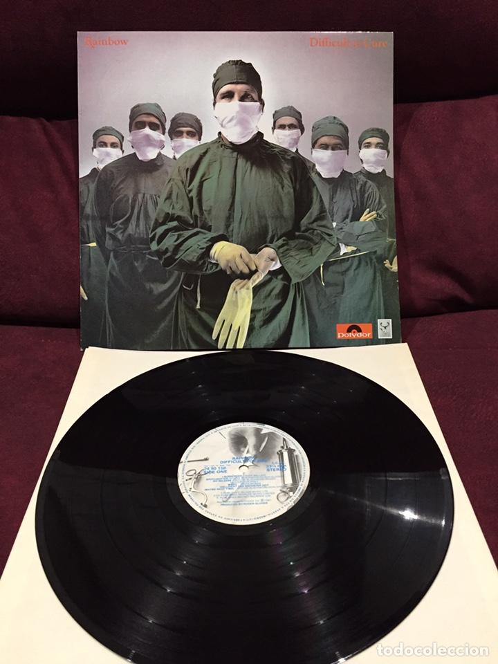 RAINBOW - DIFFICULT TO CURE LP, 1981, ESPAÑA, PRIMERA EDICIÓN (Música - Discos - LP Vinilo - Pop - Rock - New Wave Extranjero de los 80)