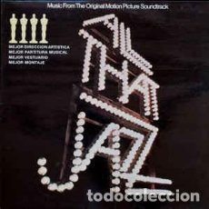 Discos de vinilo: ALL THAT JAZZ - MUSIC FROM THE ORIGINAL MOTION PICTURE SOUNDTRACK - LP SPAIN 1980. Lote 195434921