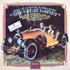 Discos de vinilo: MÚSICA DE LA PELÍCULA EL GRAN GATSBY - THE GREAT GATSBY - LP RCA 1974. Lote 195435027