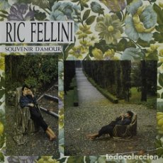 Discos de vinilo: RIC FELLINI - SOUVENIR D'AMOUR - MAX-SINGLE MAX MUSIC SPAIN 1986. Lote 195435276