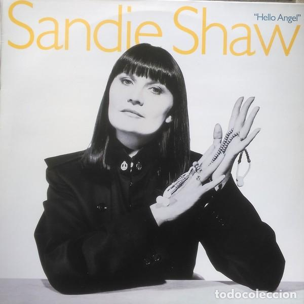 SANDIE SHAW– HELLO ANGEL - LP UK 1988 (Música - Discos - LP Vinilo - Pop - Rock - New Wave Extranjero de los 80)
