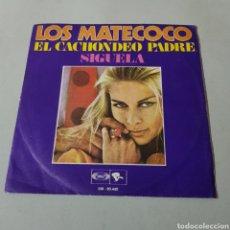 Discos de vinilo: LOS MANTECOCO - EL CACHONDEO PADRE - SIGUELA. Lote 195438505