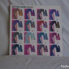 Discos de vinilo: ELTON JOHN-LEATHER JACKETS. Lote 195444487