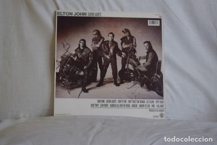 Discos de vinilo: ELTON JOHN-LEATHER JACKETS - Foto 2 - 195444487