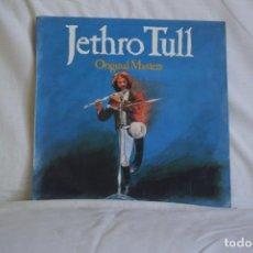 Discos de vinilo: JETHRO TULL-ORIGINAL MASTERS. Lote 195444692