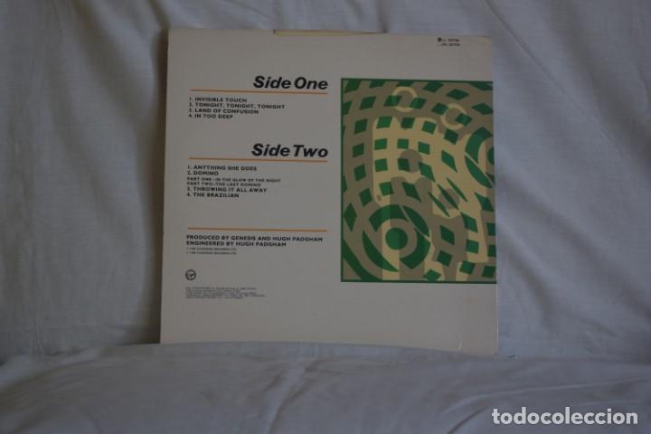 Discos de vinilo: GENESIS-INVISIBLE TOUCH - Foto 2 - 195444701
