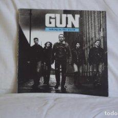 Discos de vinilo: GUN. TAKING ON THE WORLD. Lote 195444731