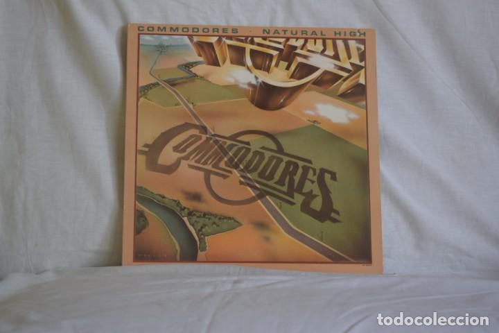 COMODORES-NATURAL HIGH (Música - Discos - LP Vinilo - Pop - Rock - New Wave Extranjero de los 80)