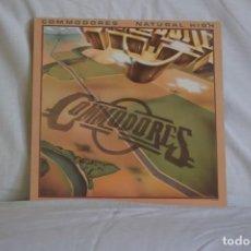 Discos de vinilo: COMODORES-NATURAL HIGH. Lote 195444850