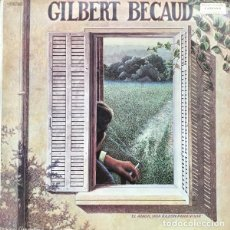 Discos de vinilo: GILBERT BECAUD - GILBERT BÉCAUD (ESPAÑA, 1977). Lote 195447423