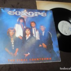 Discos de vinilo: EUROPE LP. THE FINAL COUNTDOWN MADE IN SPAIN. 1986.. Lote 195447500