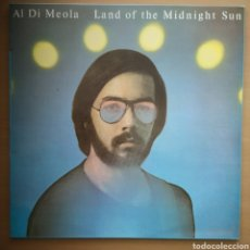 Discos de vinilo: AL DI MEOLA - IMPECABLE - LAND OF THE MIDNIGHT SUN. Lote 195447592