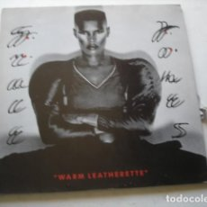 Discos de vinilo: GRACE JONES WARM LEATHERETTE. Lote 195449462