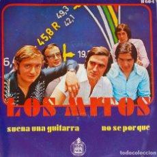 Discos de vinilo: LOS MITOS. SUENA UNA GUITARRA. SINGLE. Lote 195451957