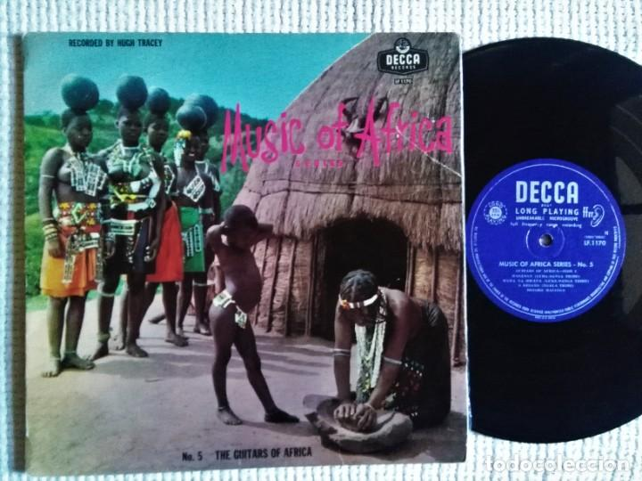 Discos de vinilo: VARIOUS MUSIC OF AFRICA SERIES NO. 5 THE GUITARS OF AFRICA LP 10 1952 SOUTH AFRICA - Foto 1 - 195452047
