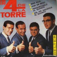 Discos de vinilo: LOS 4 DE LA TORRE. MÁS ALLÁ. EP. Lote 195452088