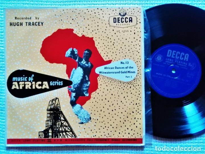 HUGH TRACEY '' AFRICA DANCES OF THE WITWATERSRAND GOLD MINES PART. 2 '' LP 10'' 1952 UK (Música - Discos - LP Vinilo - Étnicas y Músicas del Mundo)