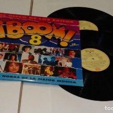 Discos de vinilo: BOOM 8 EL DISCO DE LOS ÉXITOS- DOBLE LP 1992. Lote 195452425