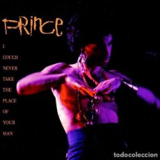 Discos de vinilo: PRINCE / I COULD NEVER TAKE THE PLACE OF YOUR MAN / HOT THING ( SINGLE GERMANY 1987). Lote 195452438