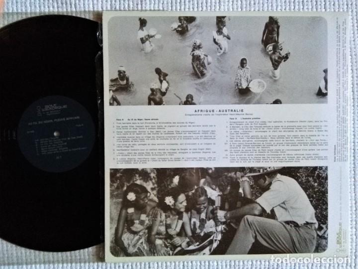 Discos de vinilo: VARIOUS AFRIQUE - AUSTRALIE (RECORDED BY H-M BERNEY) LP SWITZERLAND - Foto 2 - 195452566