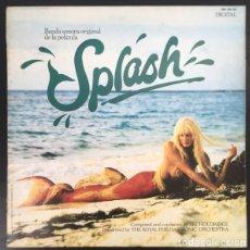 Discos de vinilo: LEE HOLDRIDGE– SPLASH (BANDA SONORA ORIGINAL DE LA PELÍCULA) LP HISPAVOX 1984. Lote 195455242
