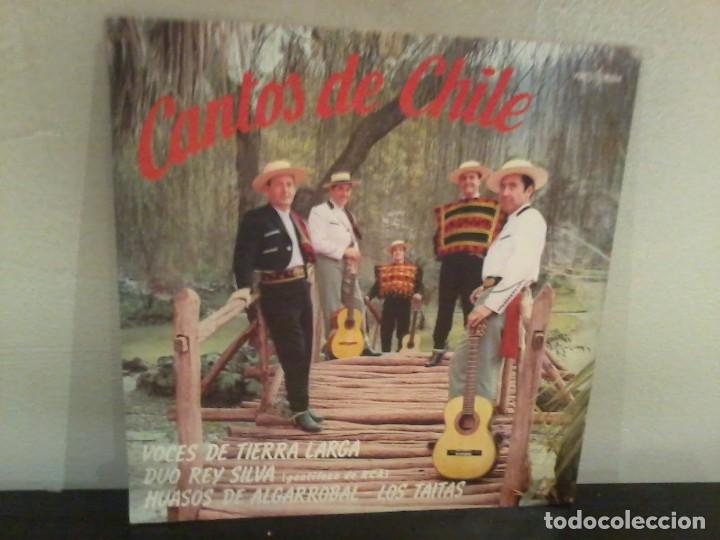 CANTOS DE CHILE 1969 CHILE EX/EX (Música - Discos - LP Vinilo - Grupos y Solistas de latinoamérica)